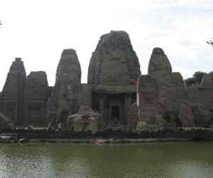 Masroor Rock-cut Temple chamba
