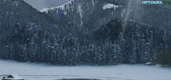 Khajjiar lake - Chamba - Himachal Pradesh - Winter